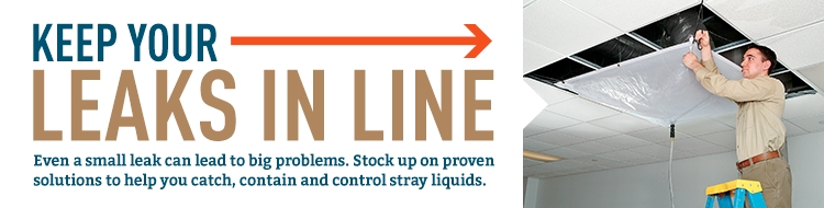 Keep your leaks in line with PIG-proven products to protect your facility and keep workers safe.