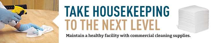Take Housekeeping to the Next Level Maintain a Healthy Facility with Commercial Cleaning Supplies