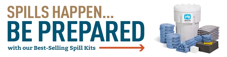 Spills Happen Be Prepared with our Best Selling Spill Kits