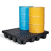 Spill Containment Pallets, Decks & Drum Platforms