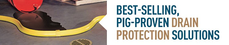 Best-selling, PIG-proven drain protection solutions.