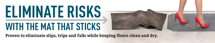 PIG Absorbency plus walk-on durability equals dry, safe floors.