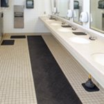 Restroom Mats with Grippy Backing