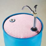 HazMat Chemical Absorbent Barrel Top Mat