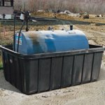 Tank Containment Trays & Spill Basins