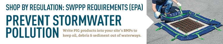 EPA SWPPP Requirements: create a plan to keep pollutants out of stormwater.