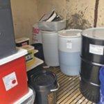 Hazwaste-RCRA Storage