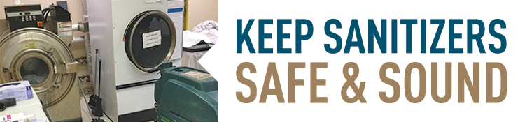 Keep sanitizers safe and sound.