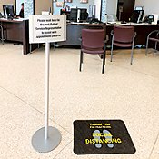Social Distancing Floor Signs & Markers