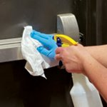 Disinfectant-Compatible Disposable Dry Wipers for COVID-19 Response