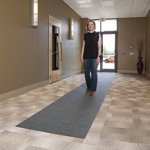 Carpet Protection Runner with Adhesive Backing