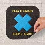 Social Distancing Floor Signs, Mats & Markers