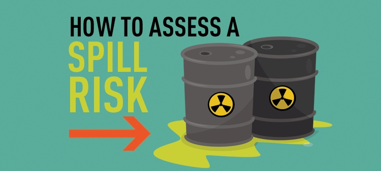 How to assess a spill risk.