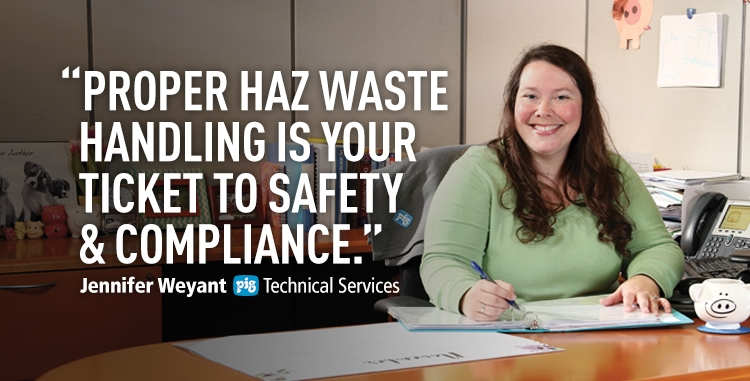 Proper haz waste handling is your ticket to safety and compliance.