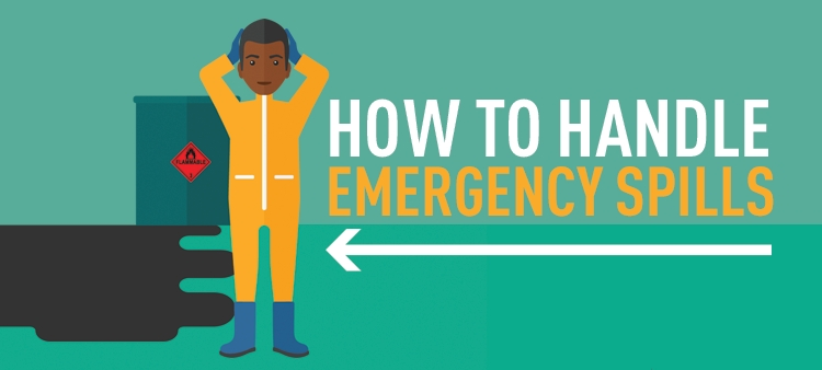 How to handle emergency spills.