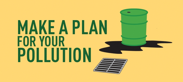 Make a Plan for your Pollution