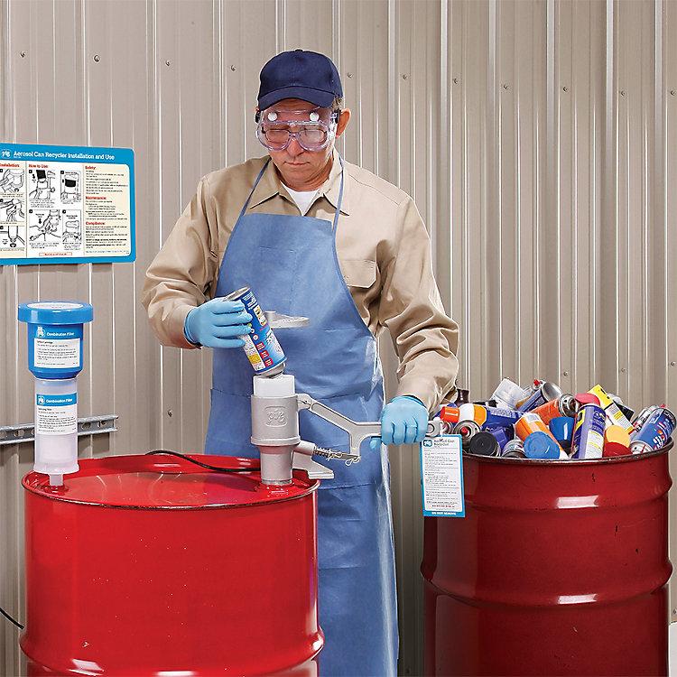Spray Paint Disposal