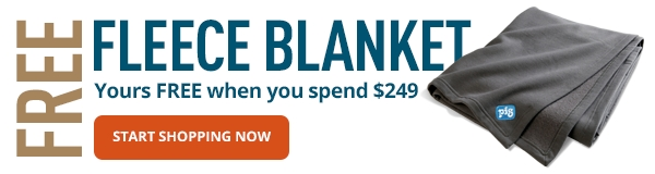 FREE Fleece Blanket when you spend $249