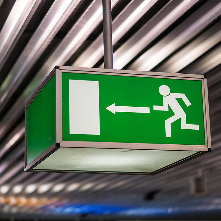 Customer Questions: Can I Close a Fire Exit During Construction