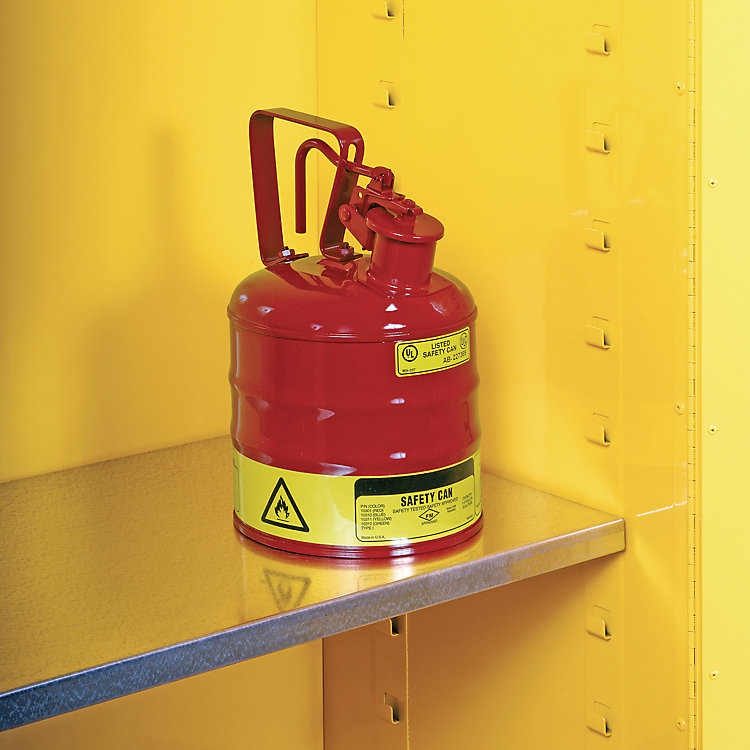 Customer Questions: Can a Flammable Cabinet Be Raised