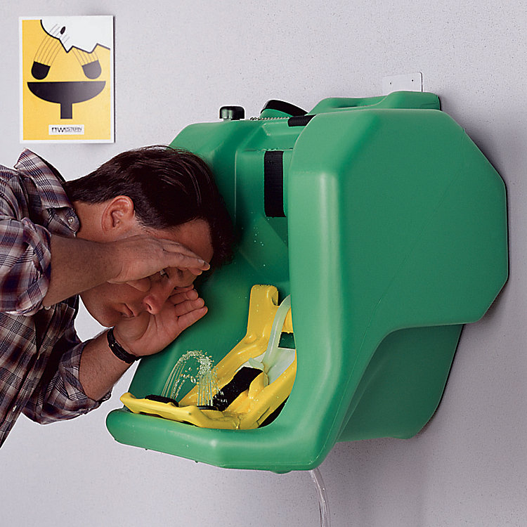 How to Refill a Self-Contained Eyewash Station
