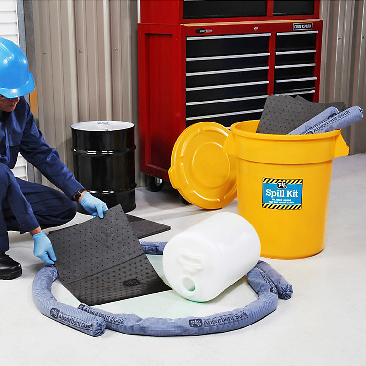3 Questions to Ask When Selecting a Spill Kit