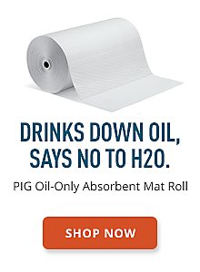 PIG Oil-Only Absorbent Mat Roll