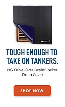 PIG Drive-Over DrainBlocker Drain Cover