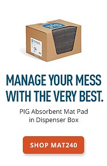 PIG Absorbent Mat Pad in Dispenser Box