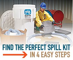 Find the perfect Spill Kit - 4 easy steps