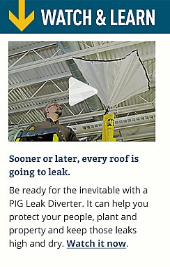 Watch & Learn.  Sooner or later, every roof is going to leak.