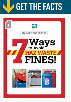 7 ways to avoid haz waste fines
