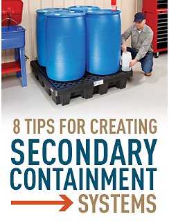 8 tips for creating secondary containment systems