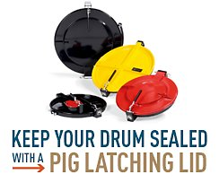 Keep Your Drum Sealed with a PIG Latching Lid