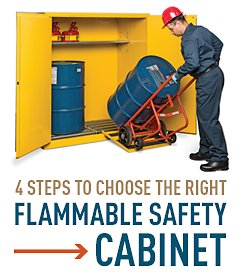 4 Steps to Choose the Right Flammable Safety Cabinet