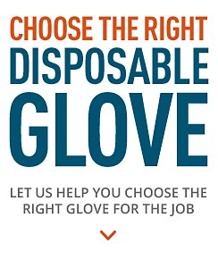 Choose the right disposable glove