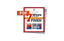 How to Avoid Hazwaste Fines