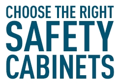 Choose the right safety cabinets