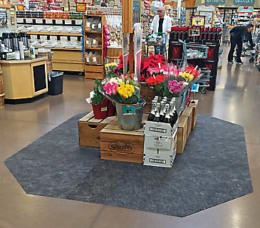 Grippy Floor Mat Grocery Store