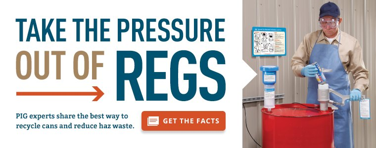 Take the pressure of out regs