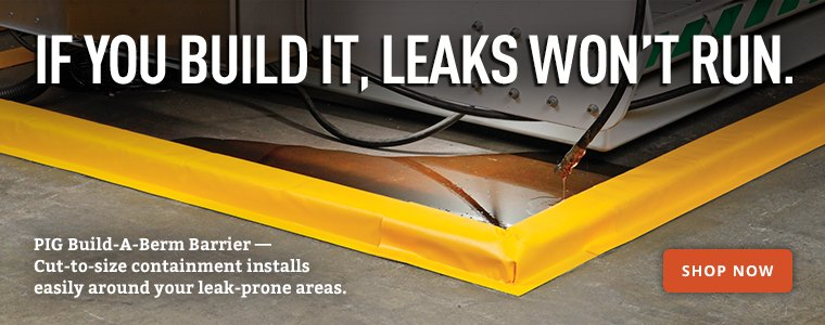 If You Build it, Leaks Won't Run.