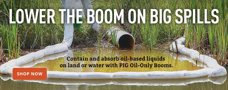 Lower The Boom On Big Spills