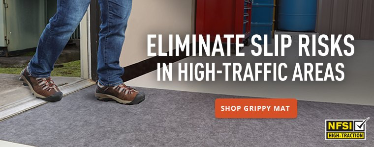 Eliminate slip risks in high traffic areas