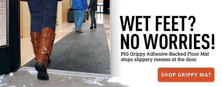 Wet Feet No Worries Shop Grippy Floor Mat