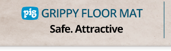 PIG Grippy Floor Mat. Safe. Attractive.