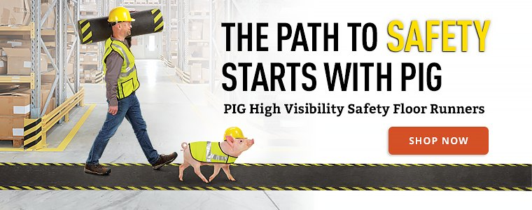 PIG High Visibility Safety Floor Runners Shop Now