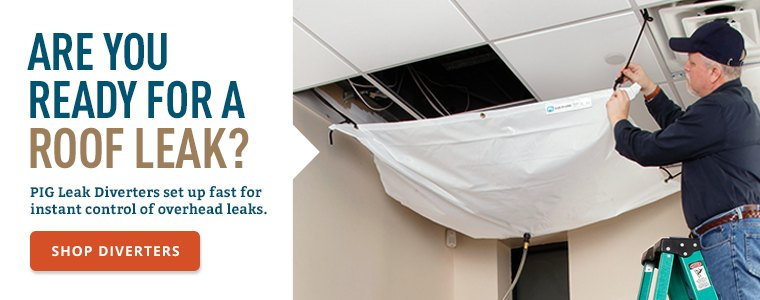 Are you ready for a roof leak?