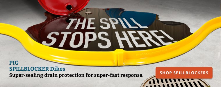 The spill stops here Shop Spillblockers