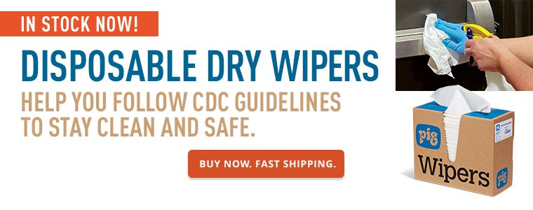 Disposable Dry Wipers Buy Now Fast Shipping