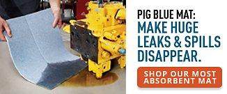 PIG Blue Mat Shop Our Most Absorbent Mat